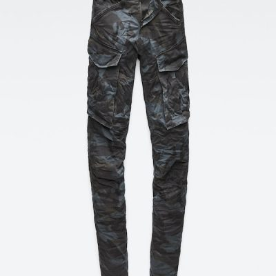 G Star RAW – Rovic Zip 3D Tapered – Blue Camo