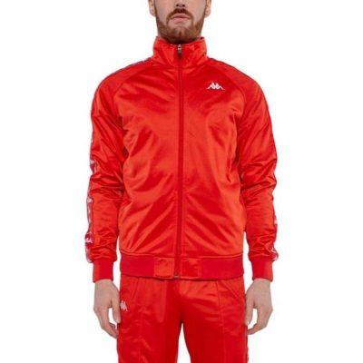 Kappa – Banda Anniston Slim fit Classic Jacket – Red Blaze