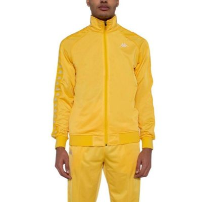Kappa – Banda Anniston Slim fit Classic Jacket – Yellow