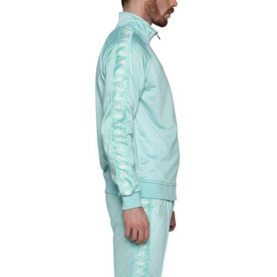Kappa – Banda Anniston Slim fit Classic Jacket – Green Aqua