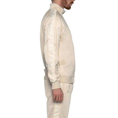 Kappa – Banda Anniston Slim fit Classic Jacket – Grey/Beige