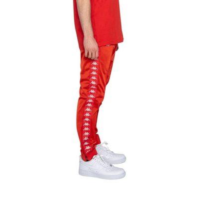 Kappa – Banda Rastoria Slim Classic Jogger – Red Blaze