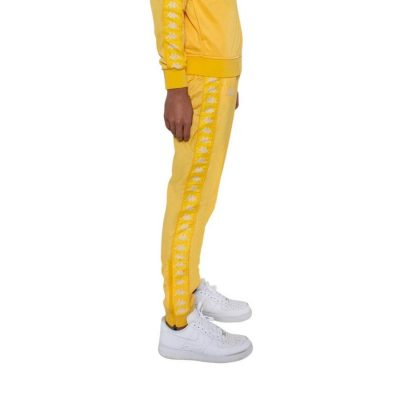 Kappa – Banda Rastoria Slim Classic Jogger – Yellow