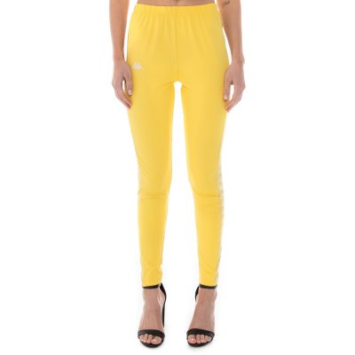 Kappa – Banda Atui Legging – Yellow