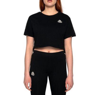 Kappa – Banda Atui Reg Fit t-shirt – Black