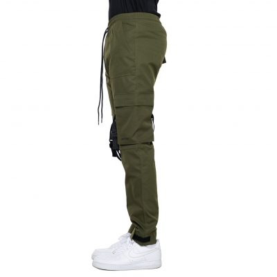 EPTM – Strap Cargo Pants – Olive