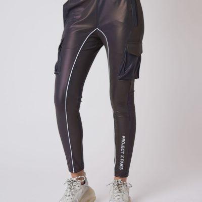 Project x Paris – 3M reflective cargo joggers – Dk Silver