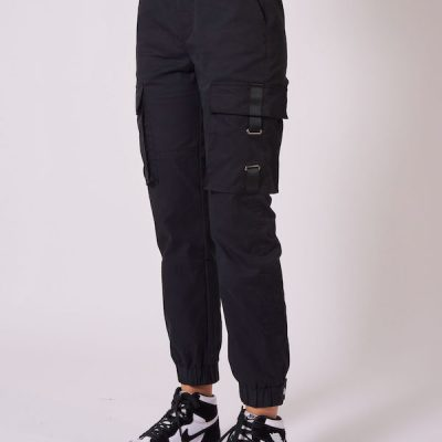 Project X Paris – Cargo Combat joggers – Black