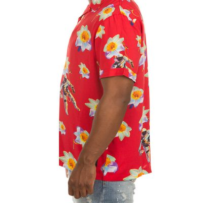 Billionaire Boys Club – Dreamspace SS Button-up – Red