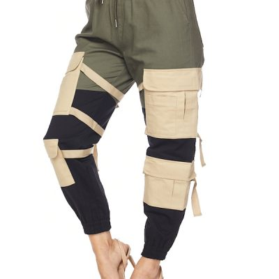 HD – Strap Cargo Joggers – Olive