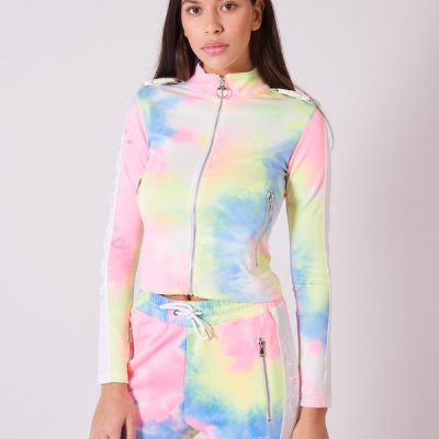 Project X Paris – Tie Dye Zip Up – Tie Dye