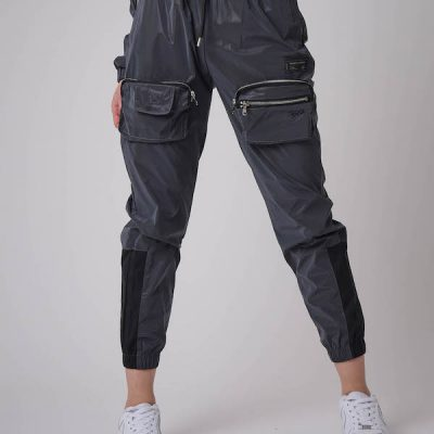 Project X Paris – Reflective Utility Cargo Pants – Dk Silver