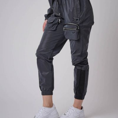 Project X Paris – Reflective Utility Cargo Pants – Dk Silver