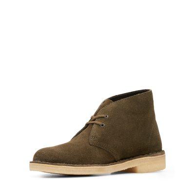 Clarks – Desert Boot – Olive Suede