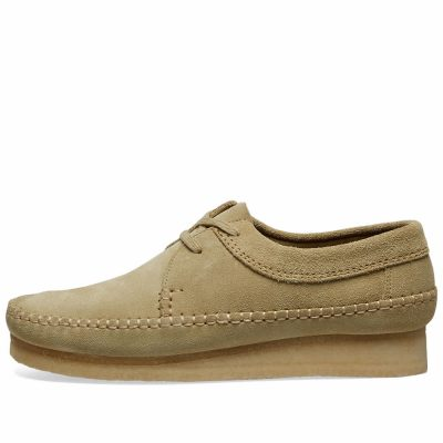 Clarks – Weaver – Maple Suede