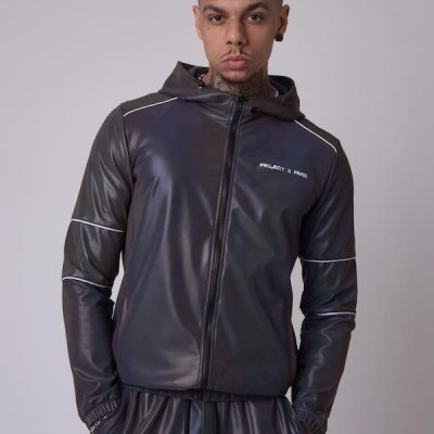 Project X Paris – 3M Hood Jacket – Dk Silver