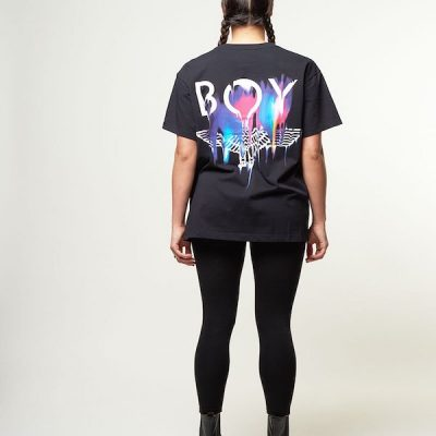 Boy London – Melt Tee – Black