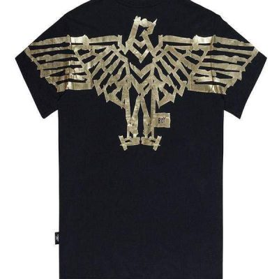 Boy London – Tape Eagle – Black/Gold