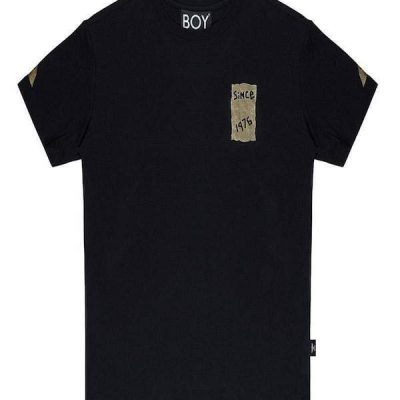 Boy London – Tape Eagle – Black/Gold