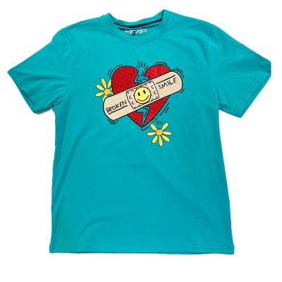 BKYS – Broken Smile tee – Teal