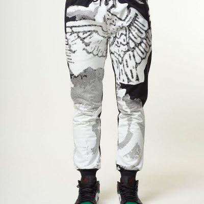Boy London – Ink Spray Jogger – Black
