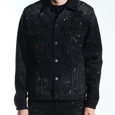 Embellish NYC – Lane Denim Jacket – Black