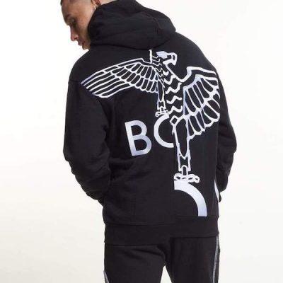 Boy London – Tape Embroidery Hoody – Black
