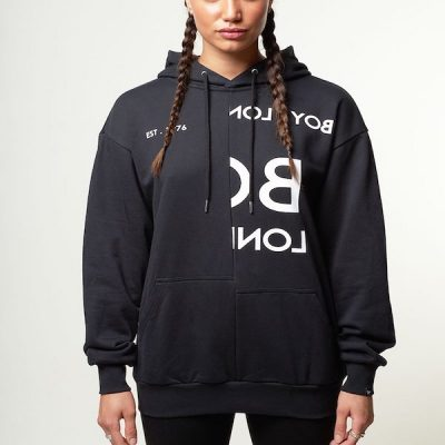 Boy London – Tape Embroidery Hoody – Black