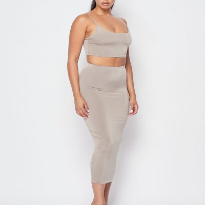 HD – Venezia Skirt Set- Sand