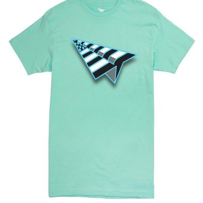 Paper Planes – Flag Tee – Mint