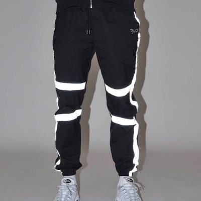 Project X Paris – 3M windbreaker pants – Black