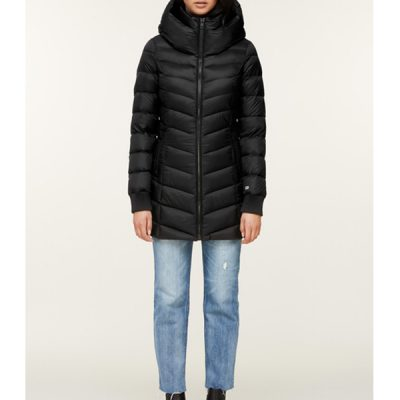 Soia & Kyo – Alanis Light weight Down Puffer – Black