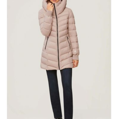 Soia & Kyo – Alanis Light weight Down Puffer – Quartz (Pink)