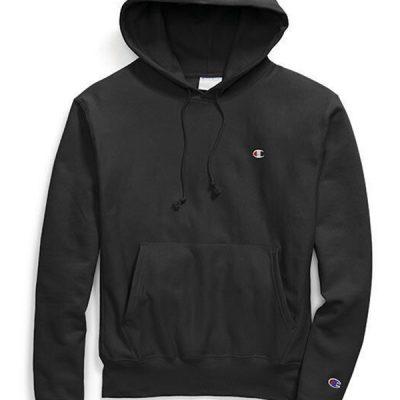 Champion – Reverse Weave Hoodie – Black
