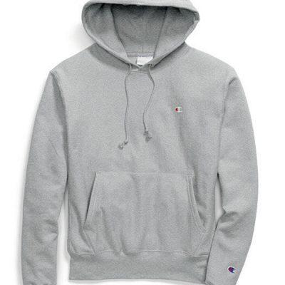 Champion – Reverse Weave Hoodie – Grey