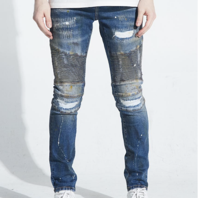 Embellish NYC – Kane Biker – Blue