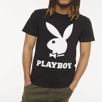 Eleven Paris X Playboy – Lummer Tee – Black