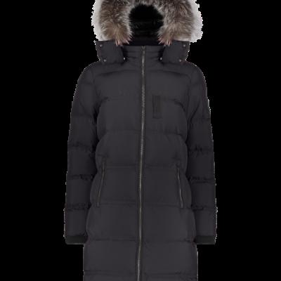 Moose Knuckles – Rush Lake 2.0 Puffer Parka – Black w/ Frost Fox Fur