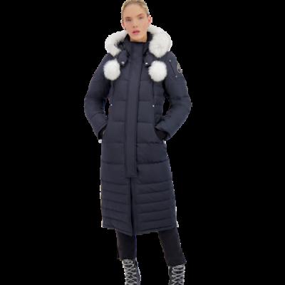 Moose Knuckles – Saskatchewan Parka – Navy w/ Natural fox Fur