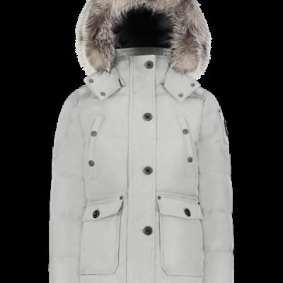Moose Knuckles – Anguile Parka – Grey Birch