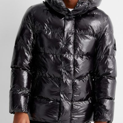 Point Zero – Anthony Shiny Puffer – Black