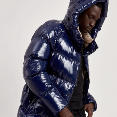 Point Zero – Anthony Shiny Puffer – Navy