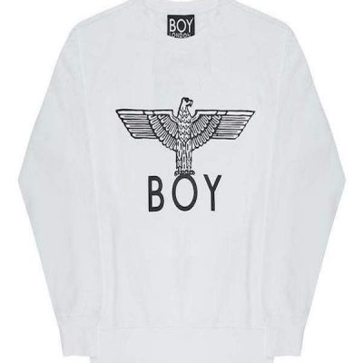 Boy London – Boy Eagle Crew Neck Sweater – White