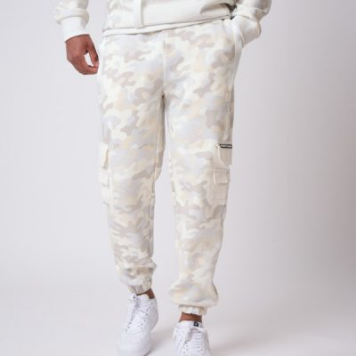 Project X Paris – Camo Cargo Pants – Ivory