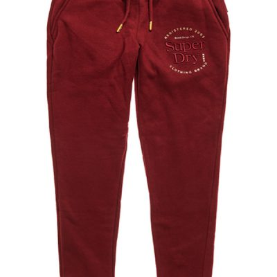 Superdry – Established Jogger – Burgundy