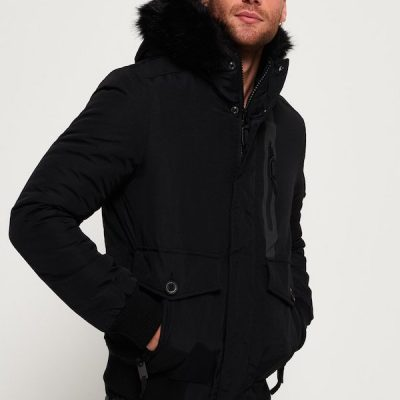 Superdry – Everest Bomber – Black