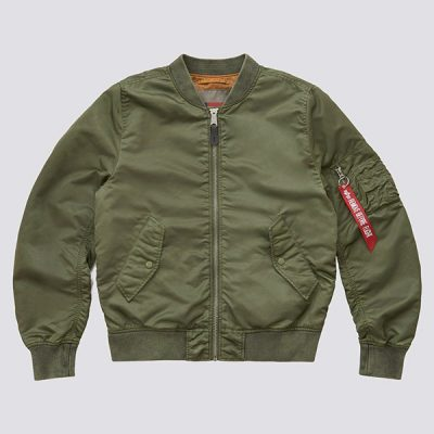 Alpha Industries – L-2B Bloodchit Battlewash Bomber – Sage