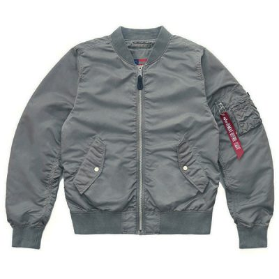 Alpha Industries – L-2B Bloodchit Battlewash Bomber – Silver