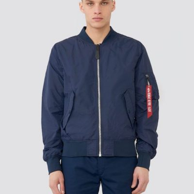 Alpha Industries – L-2B Scout Replica Bomber – Blue