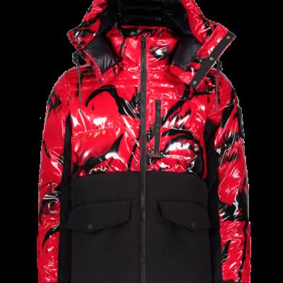 Moose Knuckles – Creston Jacket – Red/Black
